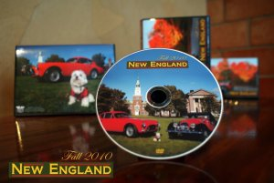 Art work for New England DVD